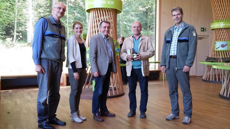 30000ster-Besucher_Steigerwald-Zentrum_Handthal_Oberschwarzach