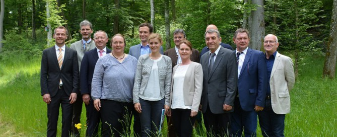 Übergabeveranstaltung Netzwerk Forst und Holz Unterfranken (c) Steigerwald-Zentrum_web